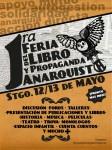 SANTIAGO, CHILE: PRESENTACIÓN DE LA PRIMERA FERIA DEL LIBRO Y LA PROPAGANDA ANARQUISTA