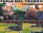 SANTIAGO, CHILE: FERIA DEL TRUEKE E INTERCAMBIO SEMILLAS, PLANTAS Y SABERES