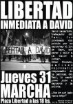 MONTEVIDEO, URUGUAY: MARCHA POR LA LIBERTAD INMEDIATA A DAVID!