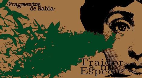 """TRAIDOR A MI ESPECIE: """"FRAGMENTOS DE RABIA"""" EP-2012"""