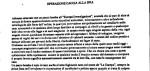 ITALIA: PAQUETE BOMBA CONTRA LA STAMPA Y EUROPA INVESTIGAZIONI