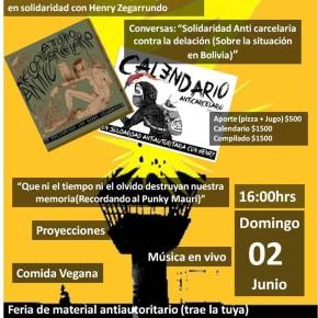 VALPARAÍSO, CHILE: JORNADA EN LECHEROS ANTICARCELARIA Y SOLIDARIA