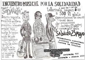 """LINARES, CHILE: LANZAMIENTO DEL DISCO """"AULLIDOS SALVAJES CONTRA LA PRISIÓN"""""""