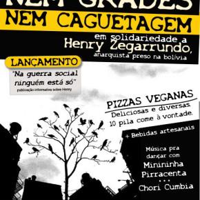 PORTO ALEGRE, BRASIL: ACTIVIDAD SOLIDARIA E INFORMATIVA SOBRE LA SITUACION DEL COMPAÑERO HENRY ZEGARRUNDO (ES/POR)