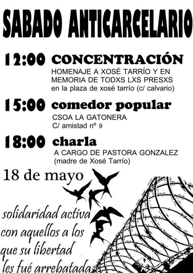 SABADO ANTICARCELARIO EN MADRID