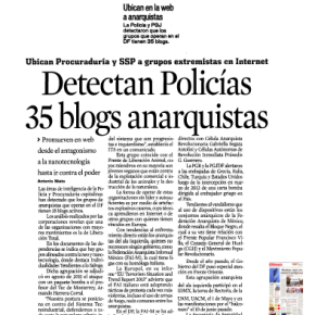 """MÉXICO: SOBRE LOS DISTURBIOS ENMARCADO EN LA PROTESTA DEL """"HALCONAZO"""""""