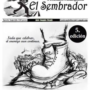 CAUQUENES, MAULE: PERIÓDICO ANARQUISTA EL SEMBRADOR N°5
