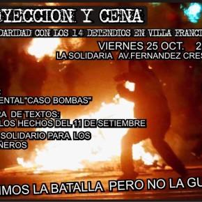 MONTEVIDEO, URUGUAY: PROYECCIÓN Y CENA