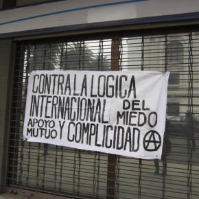 Valparaiso, CHILE: Contra la coordinación internacional del miedo: ¡Apoyo mutuo y complicidad acrata! Mitting en apoyo a los compas en España!