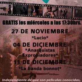 SANTIAGO, CHILE: A MANO ARMADA CICLO DE CINE + CONVERSATORIO
