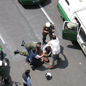 ANGOL, CHILE: CAPTURAN AL COMPAÑERO CARLOS GUTIÉRREZ, ACUSADO DE PARTICIPAR EN LA RECUPERACIÓN AL BANCO SECURITY Y ASESINATO DEL CABO MOYANO