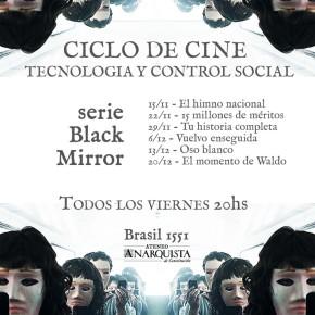 """BUENOS AIRES, ARGENTINA: CICLO DE CINE """"TECNOLOGÍA Y CONTROL SOCIAL"""""""