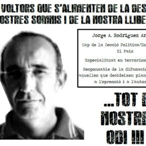 BARCELONA, ESPAÑA: CONCENTRACIÓN EN SOLIDARIDAD CON LXS ANARQUISTAS PRESXS