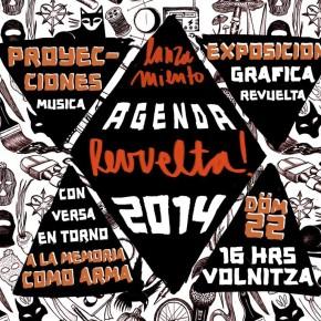 SANTIAGO, CHILE: LANZAMIENTO AGENDA REVUELTA 2014 EN SOLIDARIDAD DE LXS PRESXS EN GUERRA!